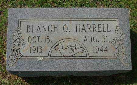 HARRELL, BLANCH O. - Saline County, Arkansas   BLANCH O. HARRELL - Arkansas Gravestone Photos