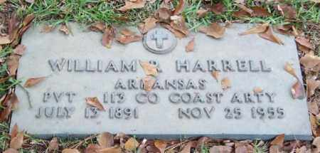 HARRELL (VETERAN), WILLIAM R - Saline County, Arkansas | WILLIAM R HARRELL (VETERAN) - Arkansas Gravestone Photos