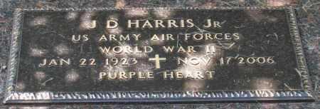 HARRIS, JR. (VETERAN WWII, POW, J. D - Saline County, Arkansas | J. D HARRIS, JR. (VETERAN WWII, POW - Arkansas Gravestone Photos