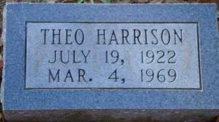 HARRISON, THEO - Saline County, Arkansas   THEO HARRISON - Arkansas Gravestone Photos