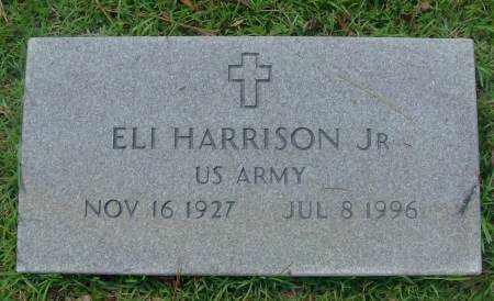 HARRISON, JR (VETERAN), ELI - Saline County, Arkansas | ELI HARRISON, JR (VETERAN) - Arkansas Gravestone Photos