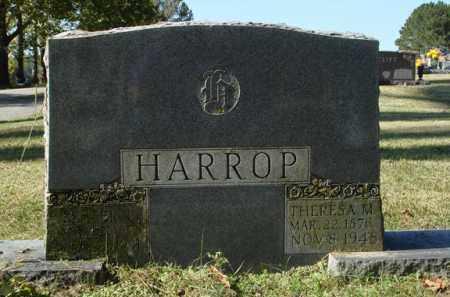 HARROP, LESTER BEACHAM - Saline County, Arkansas | LESTER BEACHAM HARROP - Arkansas Gravestone Photos