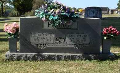 MILLER HARROP, THELMA ARRIEBA - Saline County, Arkansas | THELMA ARRIEBA MILLER HARROP - Arkansas Gravestone Photos
