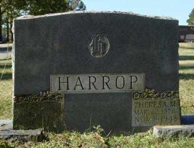 RENGSTORFF HARROP, THERESA MARGERITE - Saline County, Arkansas | THERESA MARGERITE RENGSTORFF HARROP - Arkansas Gravestone Photos