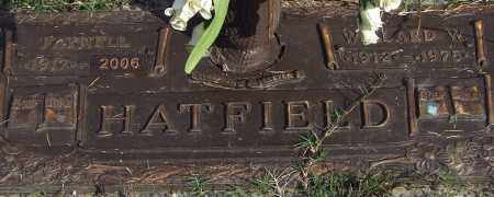 HATFIELD, WILLARD W. - Saline County, Arkansas | WILLARD W. HATFIELD - Arkansas Gravestone Photos