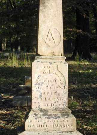 HAWKINS, JOHN H. - Saline County, Arkansas | JOHN H. HAWKINS - Arkansas Gravestone Photos