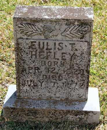 HEFLEY, EULIS T - Saline County, Arkansas   EULIS T HEFLEY - Arkansas Gravestone Photos