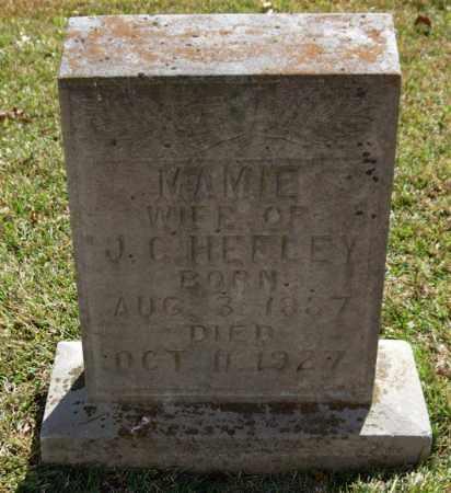 HEFLEY, MAMIE - Saline County, Arkansas   MAMIE HEFLEY - Arkansas Gravestone Photos