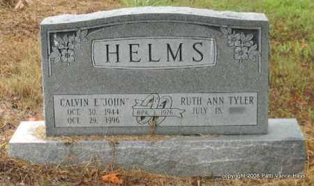 "HELMS, CALVIN E. ""JOHN"" - Saline County, Arkansas   CALVIN E. ""JOHN"" HELMS - Arkansas Gravestone Photos"