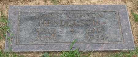 HENDERSON, JAMES CLINTON - Saline County, Arkansas   JAMES CLINTON HENDERSON - Arkansas Gravestone Photos