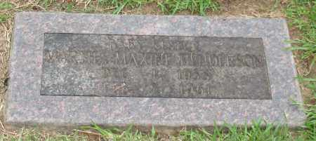 HENDERSON, MARTHA MAXINE - Saline County, Arkansas   MARTHA MAXINE HENDERSON - Arkansas Gravestone Photos