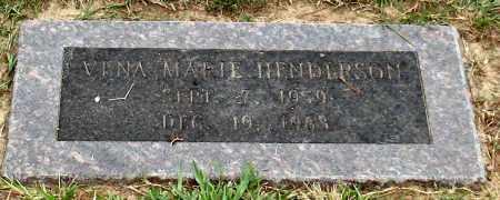 HENDERSON, VENA MARIE - Saline County, Arkansas   VENA MARIE HENDERSON - Arkansas Gravestone Photos