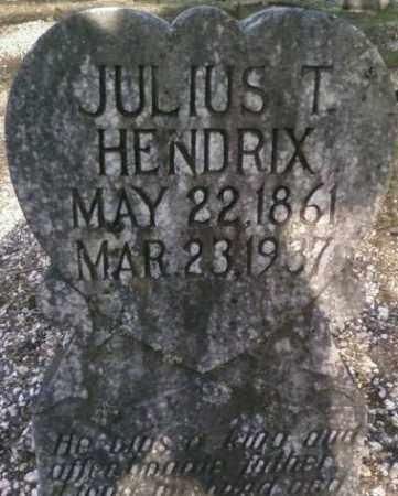 HENDRIX, JULIUS T. - Saline County, Arkansas | JULIUS T. HENDRIX - Arkansas Gravestone Photos