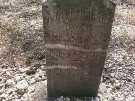 HENDRIX, WM T - Saline County, Arkansas | WM T HENDRIX - Arkansas Gravestone Photos
