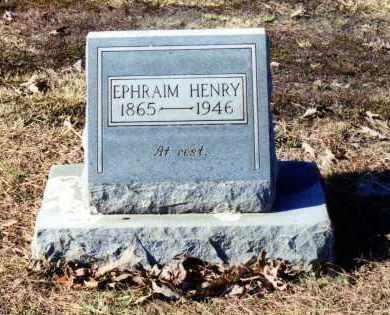 "HENRY, EPHRAIM ""EPH"" - Saline County, Arkansas | EPHRAIM ""EPH"" HENRY - Arkansas Gravestone Photos"