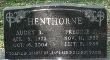 GREEN HENTHORNE, AUDRY B. - Saline County, Arkansas | AUDRY B. GREEN HENTHORNE - Arkansas Gravestone Photos