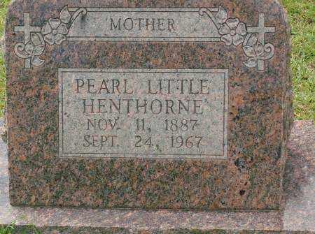 HENTHORNE, PEARL - Saline County, Arkansas | PEARL HENTHORNE - Arkansas Gravestone Photos