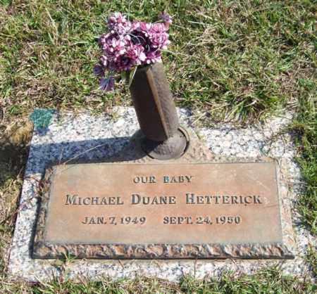 HETTERICK, MICHAEL DUANE - Saline County, Arkansas | MICHAEL DUANE HETTERICK - Arkansas Gravestone Photos