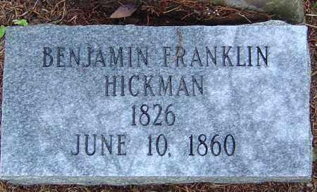 HICKMAN, BENJAMIN FRANKLIN - Saline County, Arkansas | BENJAMIN FRANKLIN HICKMAN - Arkansas Gravestone Photos