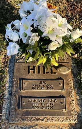 HILL, BERDIA BEA - Saline County, Arkansas | BERDIA BEA HILL - Arkansas Gravestone Photos