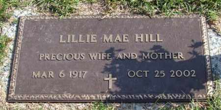 HILL, LILLIE MAE - Saline County, Arkansas | LILLIE MAE HILL - Arkansas Gravestone Photos