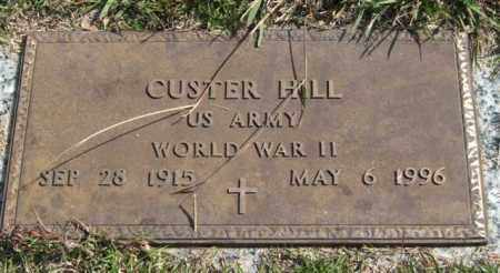 HILL (VETERAN WWII), CUSTER - Saline County, Arkansas | CUSTER HILL (VETERAN WWII) - Arkansas Gravestone Photos