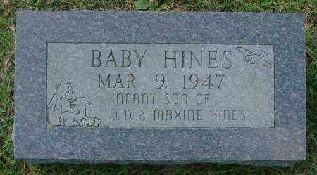 HINES, BABY - Saline County, Arkansas | BABY HINES - Arkansas Gravestone Photos