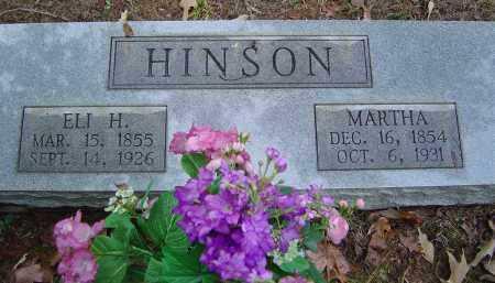 HINSON, ELI HENRY - Saline County, Arkansas | ELI HENRY HINSON - Arkansas Gravestone Photos