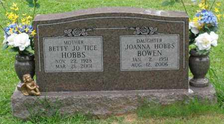 HOBBS, BETTY JO - Saline County, Arkansas | BETTY JO HOBBS - Arkansas Gravestone Photos