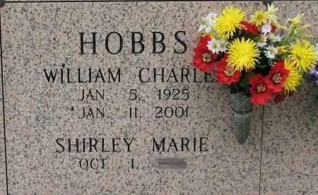 HOBBS, WILLIAM CHARLES - Saline County, Arkansas | WILLIAM CHARLES HOBBS - Arkansas Gravestone Photos