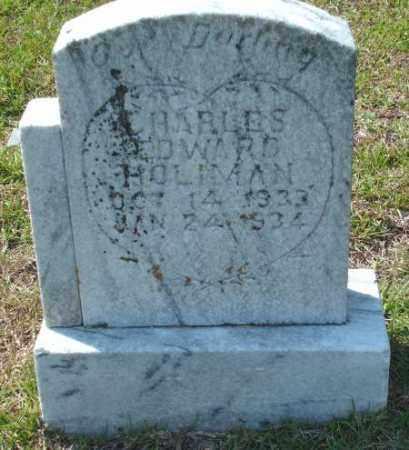 HOLIMAN, CHARLES EDWARD - Saline County, Arkansas | CHARLES EDWARD HOLIMAN - Arkansas Gravestone Photos