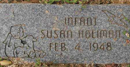 HOLIMAN, SUSAN - Saline County, Arkansas | SUSAN HOLIMAN - Arkansas Gravestone Photos