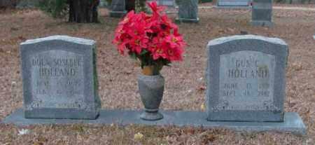 HOLLAND, GUS C. - Saline County, Arkansas | GUS C. HOLLAND - Arkansas Gravestone Photos
