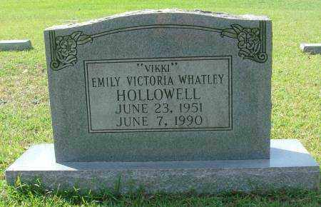 HOLLOWELL, EMILY VICTORIA - Saline County, Arkansas | EMILY VICTORIA HOLLOWELL - Arkansas Gravestone Photos