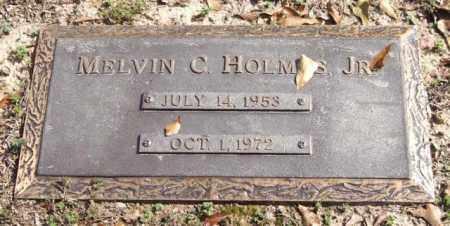 HOLMES, JR., MELVIN C. - Saline County, Arkansas | MELVIN C. HOLMES, JR. - Arkansas Gravestone Photos