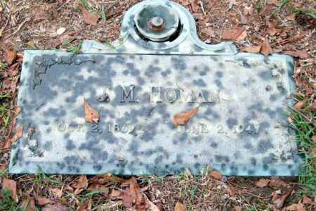 HOMAN, J. M. - Saline County, Arkansas | J. M. HOMAN - Arkansas Gravestone Photos
