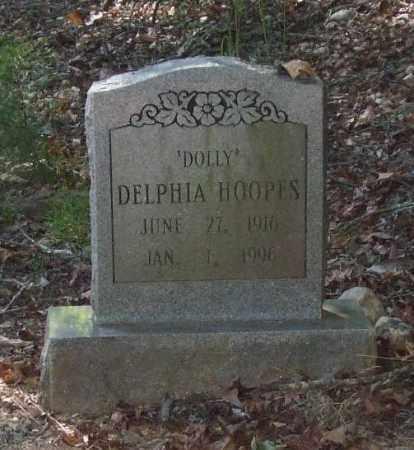 HOOPES, DELPHIA 'DOLLY' - Saline County, Arkansas | DELPHIA 'DOLLY' HOOPES - Arkansas Gravestone Photos