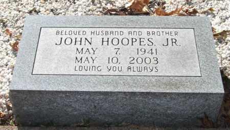 HOOPES, JR., JOHN - Saline County, Arkansas   JOHN HOOPES, JR. - Arkansas Gravestone Photos