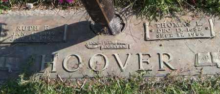 HOOVER, THOMAS L. - Saline County, Arkansas | THOMAS L. HOOVER - Arkansas Gravestone Photos