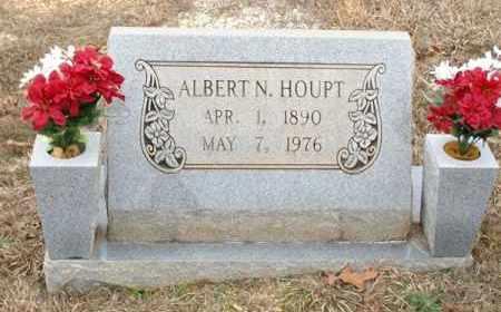 HOUPT, ALBERT N - Saline County, Arkansas | ALBERT N HOUPT - Arkansas Gravestone Photos