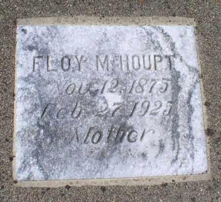 HOUPT, FLOY M. - Saline County, Arkansas | FLOY M. HOUPT - Arkansas Gravestone Photos