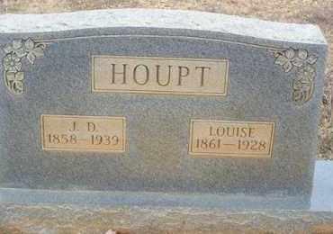 HOUPT, LOUISE - Saline County, Arkansas | LOUISE HOUPT - Arkansas Gravestone Photos