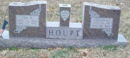 HOUPT, OBA DIAH - Saline County, Arkansas   OBA DIAH HOUPT - Arkansas Gravestone Photos