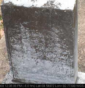 HOUPT, OSCAR MYRTEN - Saline County, Arkansas | OSCAR MYRTEN HOUPT - Arkansas Gravestone Photos