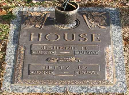 HOUSE, BETTY JO - Saline County, Arkansas | BETTY JO HOUSE - Arkansas Gravestone Photos