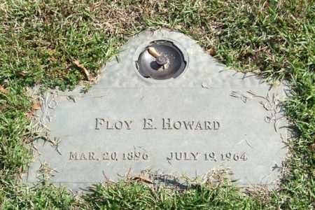 HOWARD, FLOY E. - Saline County, Arkansas   FLOY E. HOWARD - Arkansas Gravestone Photos