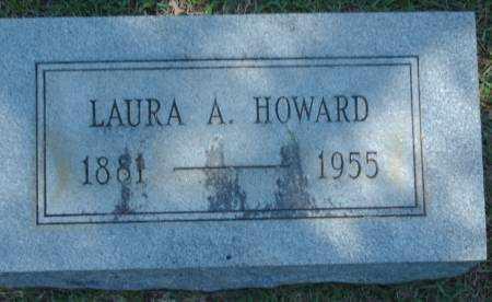HOWARD, LAURA A. - Saline County, Arkansas | LAURA A. HOWARD - Arkansas Gravestone Photos