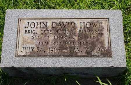 HOWE (VETERAN), JOHN DAVID - Saline County, Arkansas | JOHN DAVID HOWE (VETERAN) - Arkansas Gravestone Photos
