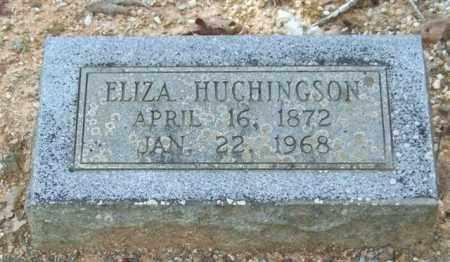 HUCHINGSON, ELIZA - Saline County, Arkansas | ELIZA HUCHINGSON - Arkansas Gravestone Photos