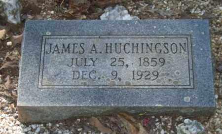 HUCHINGSON, JAMES A. - Saline County, Arkansas | JAMES A. HUCHINGSON - Arkansas Gravestone Photos